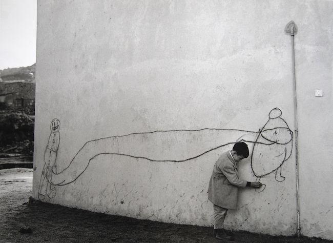 bambino murale
