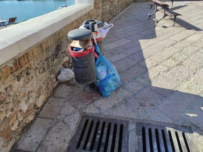 borgo antico rifiuti 7 luglio 2021