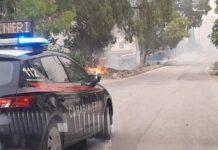 carabinieri incendi basso molise