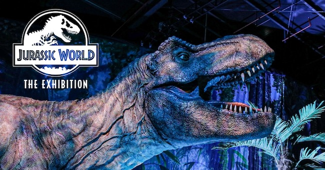 jurassic workd the exhibition