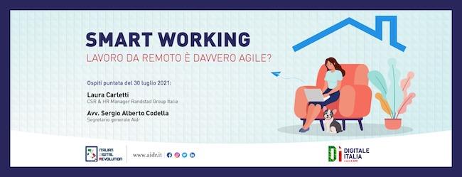 smart working digitale italia