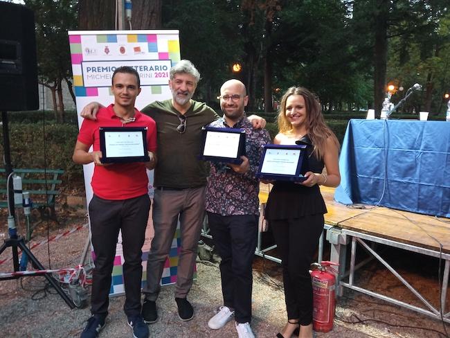 tre vincitori con pascale