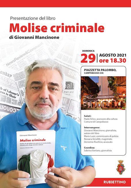 molise criminale 29 agosto 2021
