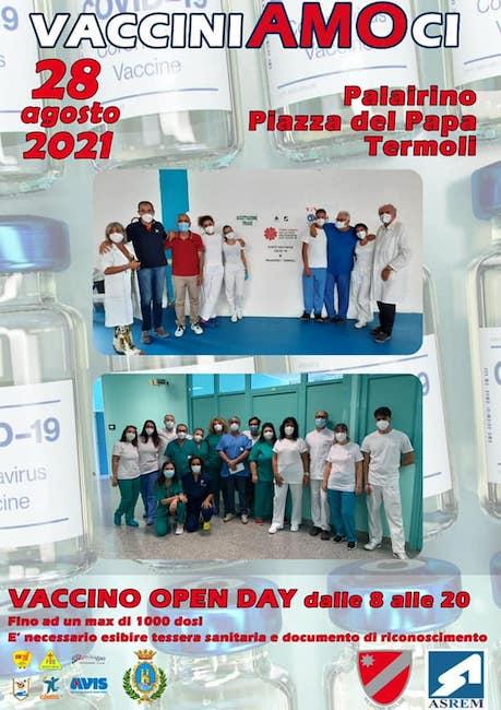 vaccino open day termoli