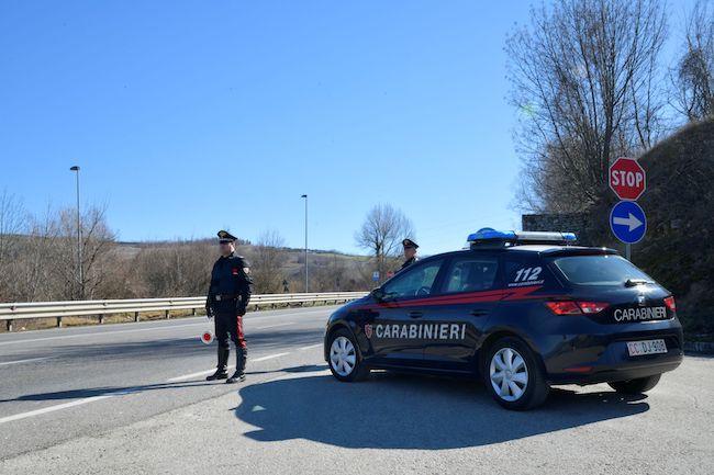 carabinieri foto stampa
