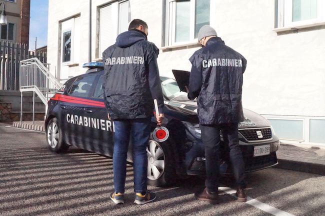 carabinieri termoli inseguimento