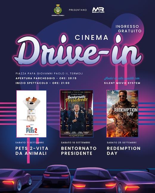 cinema drive-in settembre 2021 termoli