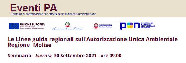 eventi pa 30 settembre 2021