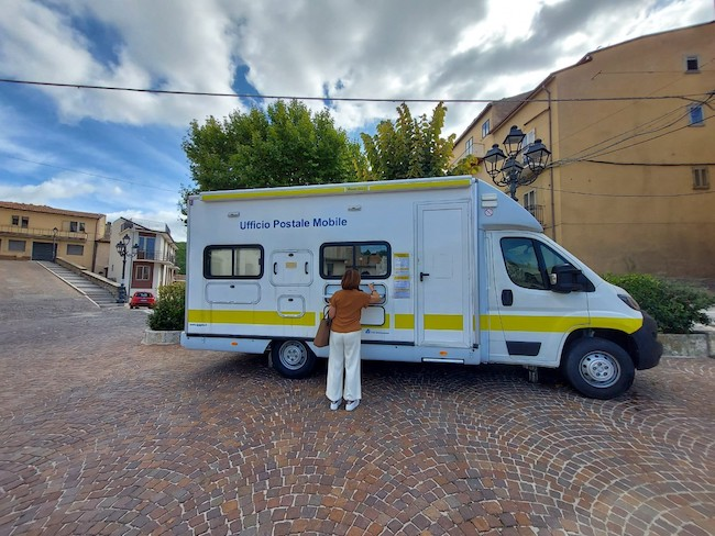 gildone ufficio postale mobile