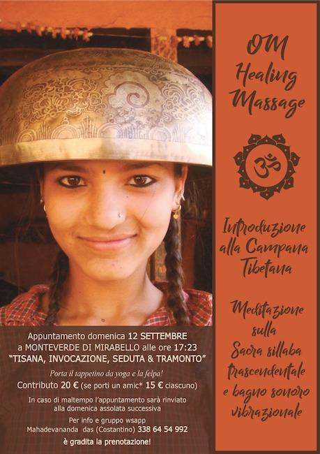 incontro campane tibetane 12 settembre 2021