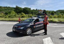 posto di blocco carabinieri isernia
