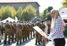 pucciarelli visita brigata alpina taurinense