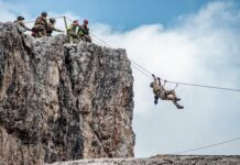 alpini in addestramento