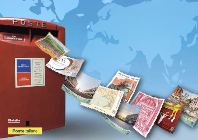 cartolina giornata della posta