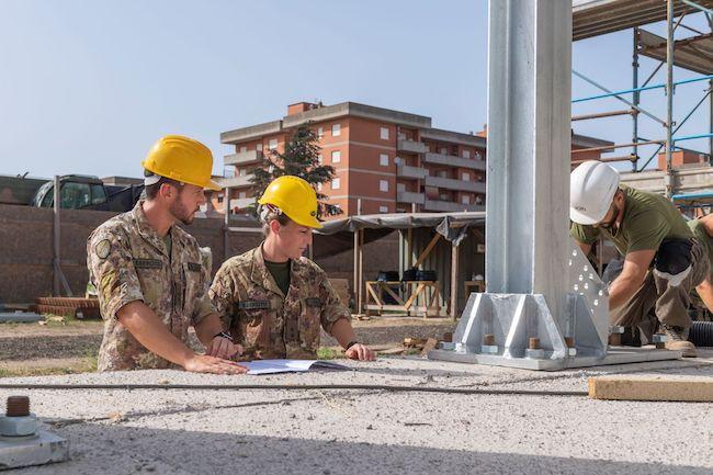 ingegneri esercito lavoro