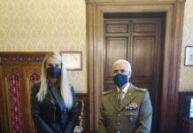 Il Sottosegretario Pucciarelli e il Generale Fine