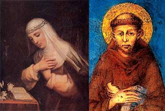santa caterina e san francesco